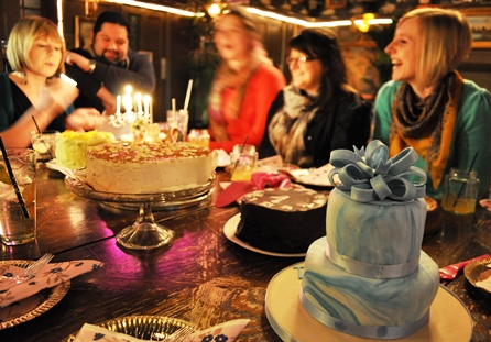 A 1st Birthday Party for a Clandestine Cake Club!