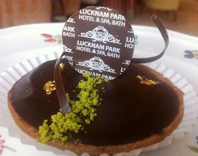 Lucknam Park Chocolate Tart